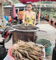 trải nghiệm làng chài trà báu