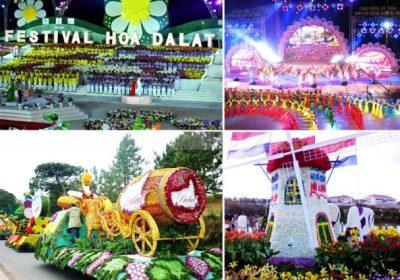 Những thông tin về lễ hội Festival hoa Đà Lạt 2015