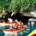 Kayaking Hạ Long bay