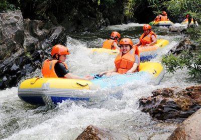 Trượt thác Hòa Phú Thành 1 ngày